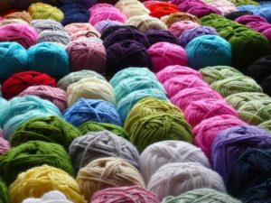 the diversity of life as seen in balls of yarn